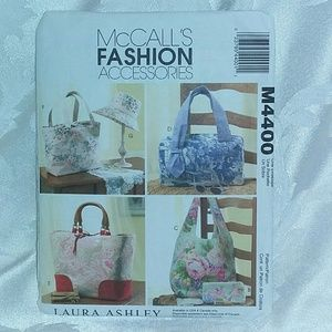 McCall's # M4400 Tote Bags Sewing Pattern